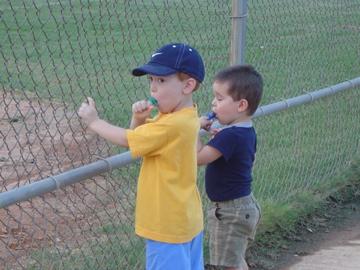 jmejr and grant softball